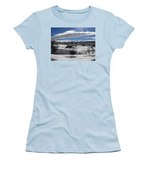 Fortress Of Solitude Women's T-Shirt (Athletic Fit)