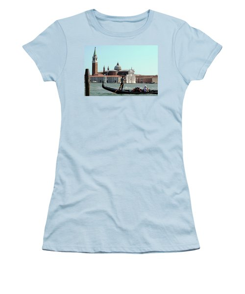 Gandola Rides In Venice Women's T-Shirt (Athletic Fit)