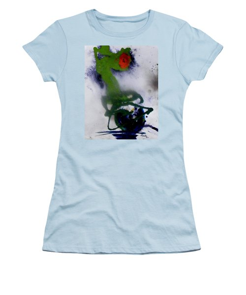 Ghost Flower Women's T-Shirt (Athletic Fit)