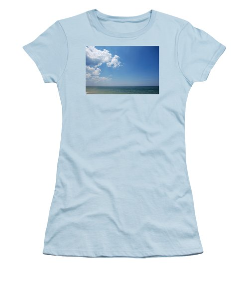 Gulf Sky Women's T-Shirt (Junior Cut) by Kay Lovingood