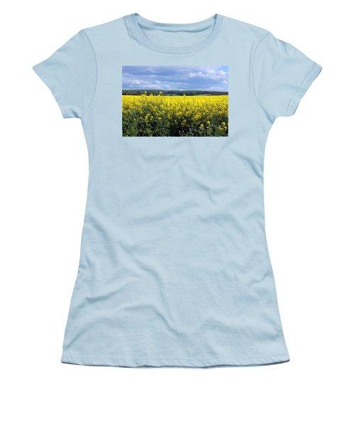 Hay Fever Women's T-Shirt (Junior Cut) by Rdr Creative