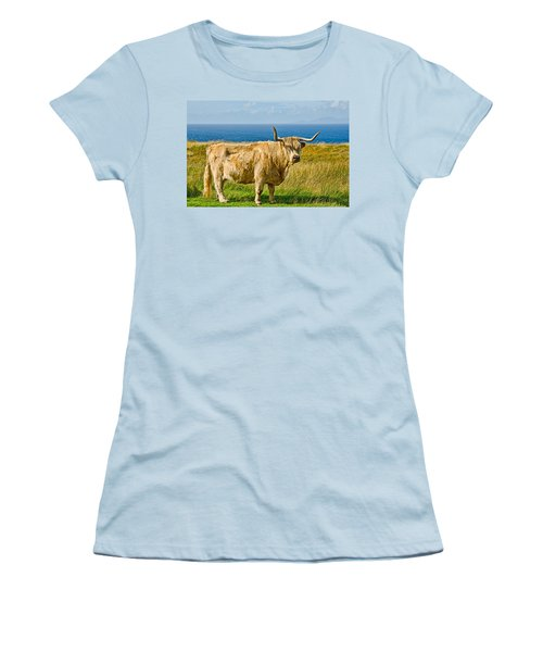 Highland Cow Women's T-Shirt (Athletic Fit)