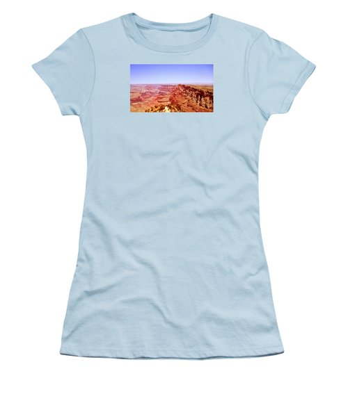 horizon in Grand Canyon Women's T-Shirt (Junior Cut) by Rima Biswas