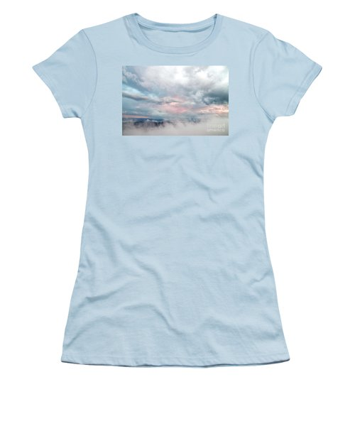 Women's T-Shirt (Junior Cut) featuring the photograph In The Clouds by Jeannette Hunt