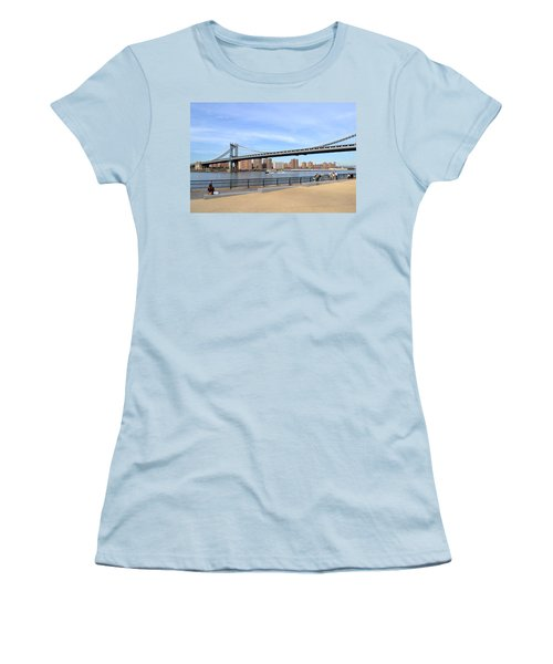 Manhattan Bridge1 Women's T-Shirt (Athletic Fit)
