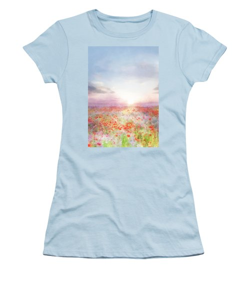 Meadow Flowers Women's T-Shirt (Athletic Fit)
