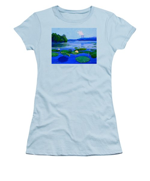 Modern Mississippi Landscape Women's T-Shirt (Athletic Fit)