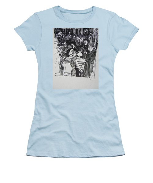 New Year's Eve 1950's Women's T-Shirt (Athletic Fit)