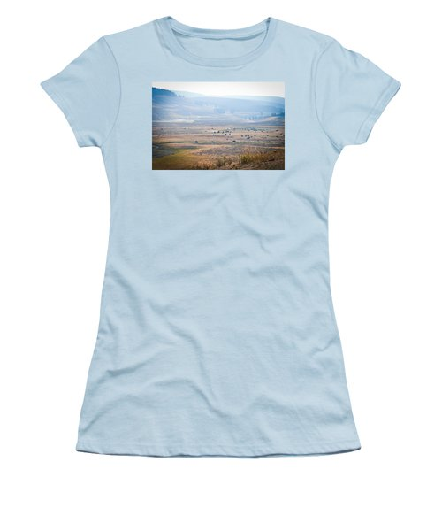 Women's T-Shirt (Junior Cut) featuring the photograph Oh Home On The Range by Cheryl Baxter