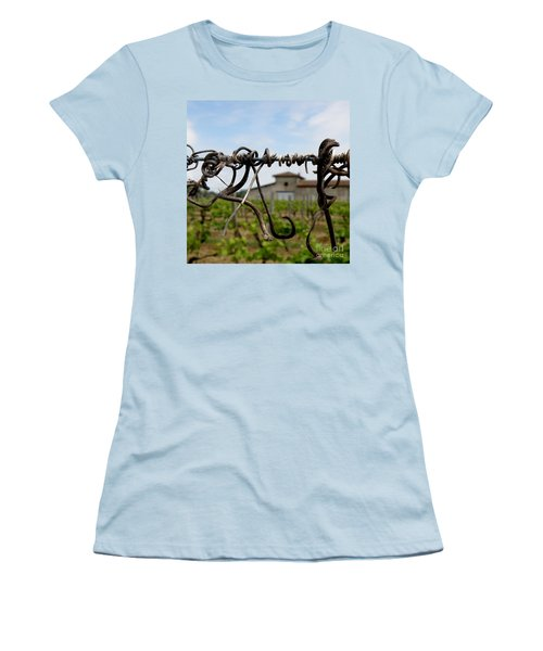 Women's T-Shirt (Junior Cut) featuring the photograph Old And New  by Lainie Wrightson