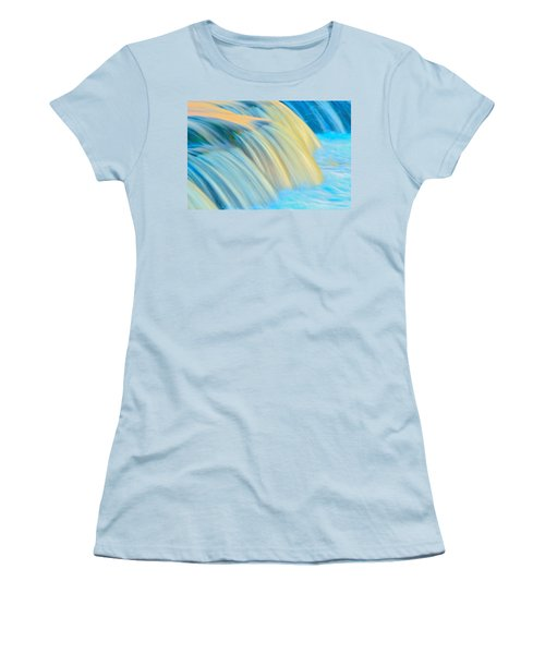 Painted Falls Women's T-Shirt (Athletic Fit)