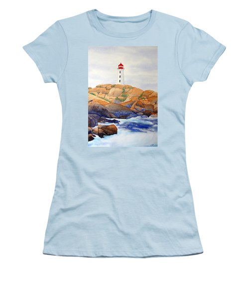 Peggy's Cove Women's T-Shirt (Athletic Fit)