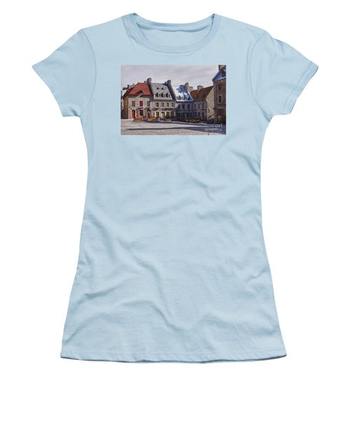 Place Royale Women's T-Shirt (Junior Cut) by Eunice Gibb