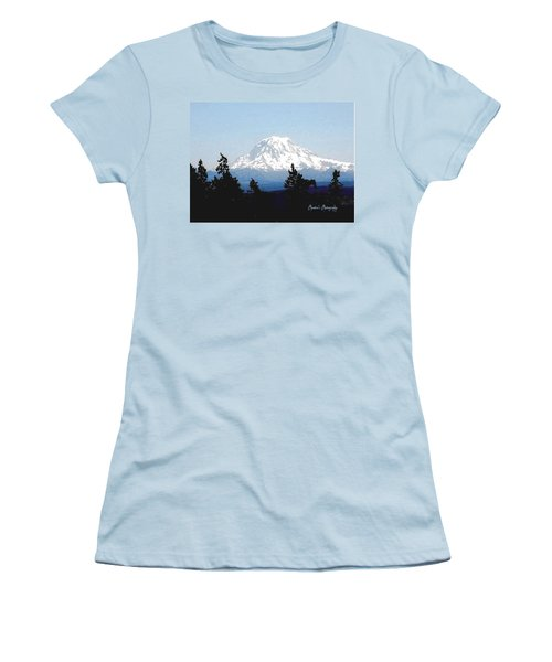 Rainier Reign Women's T-Shirt (Junior Cut) by Sadie Reneau