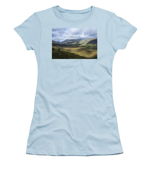 Women's T-Shirt (Junior Cut) featuring the photograph Ring Of Dingle by Hugh Smith