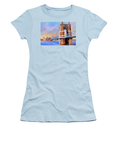 Roebling Twilight Women's T-Shirt (Athletic Fit)