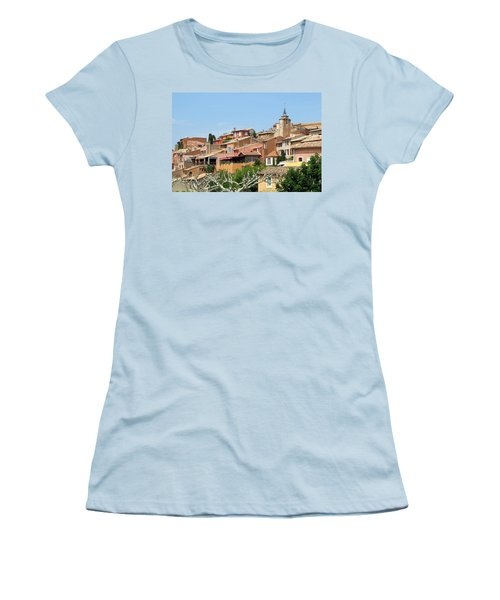 Roussillon In Provence Women's T-Shirt (Junior Cut) by Carla Parris