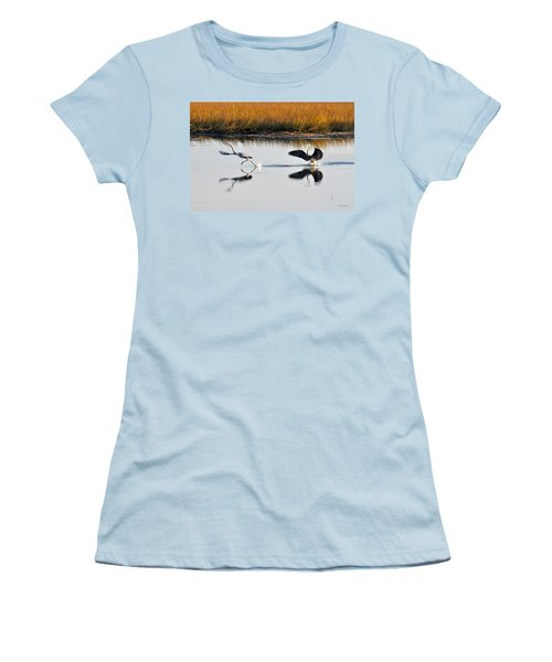 Scram Women's T-Shirt (Junior Cut) by Kay Lovingood