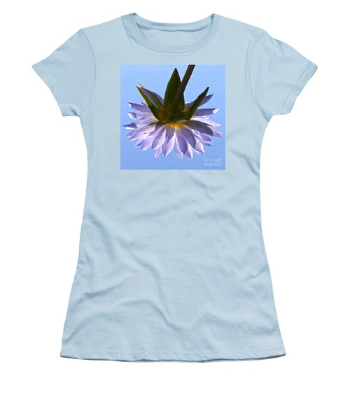 Simple Reflection Women's T-Shirt (Junior Cut) by Byron Varvarigos