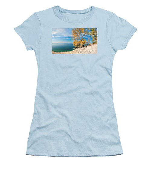 Sleeping Bear Dunes Vista 001 Women's T-Shirt (Athletic Fit)