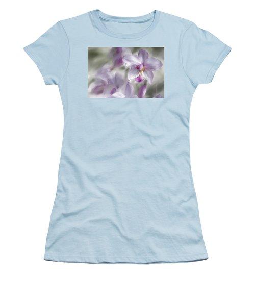 Soft Pink Women's T-Shirt (Junior Cut) by Diane Dugas