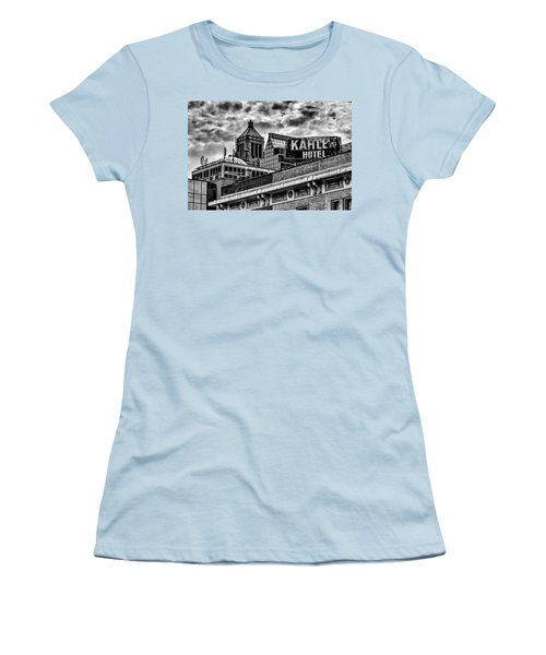 Women's T-Shirt (Junior Cut) featuring the photograph The Gathering Storm by Tom Gort