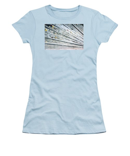 The Marble Steps Of Life Women's T-Shirt (Junior Cut) by Vicki Ferrari