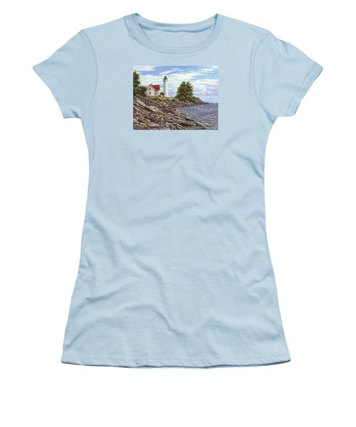 Tibbetts Point Lighthouse Women's T-Shirt (Athletic Fit)