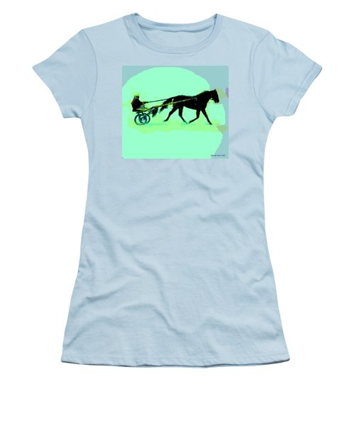 Women's T-Shirt (Junior Cut) featuring the photograph Trotter by George Pedro