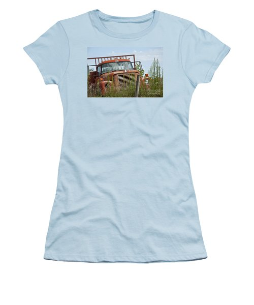 Turned Out To Pasture Women's T-Shirt (Junior Cut) by Wilma  Birdwell