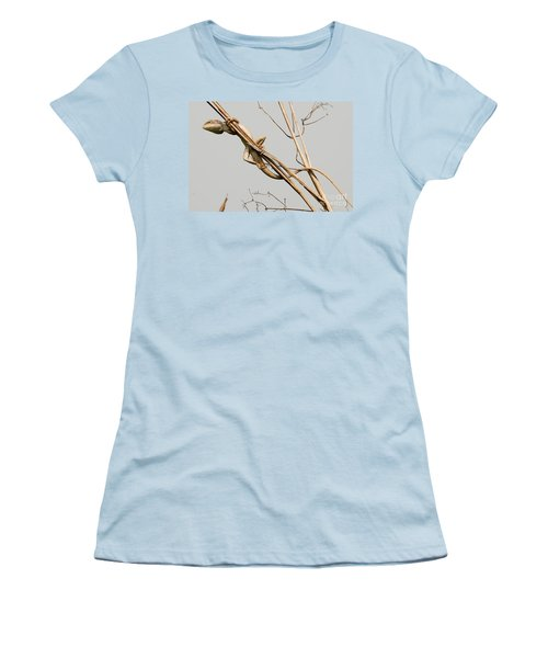 Women's T-Shirt (Junior Cut) featuring the photograph Vantage Point by Fotosas Photography