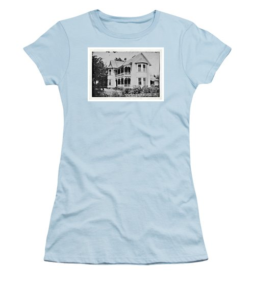 Vintage Victorian House Women's T-Shirt (Athletic Fit)