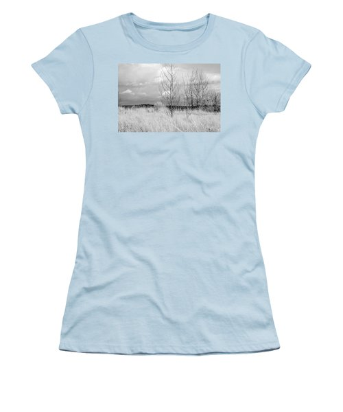 Women's T-Shirt (Junior Cut) featuring the photograph Winter Bare by Kathleen Grace