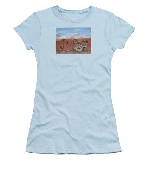 Old Spanish Cart  Women's T-Shirt (Junior Cut) by Oz Freedgood
