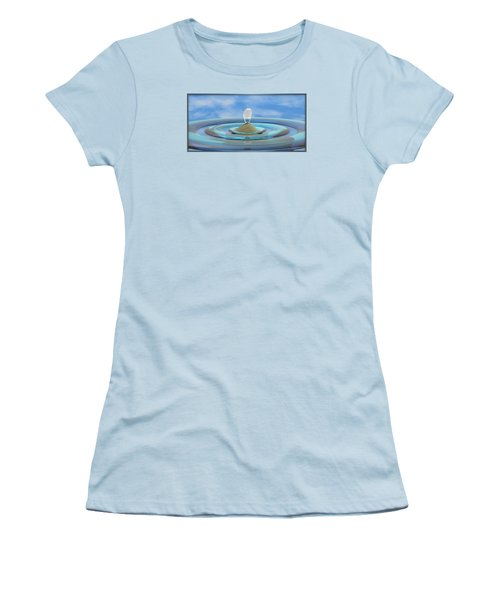 ' Sea Creature Descends ' - Digital Art Format Women's T-Shirt (Athletic Fit)
