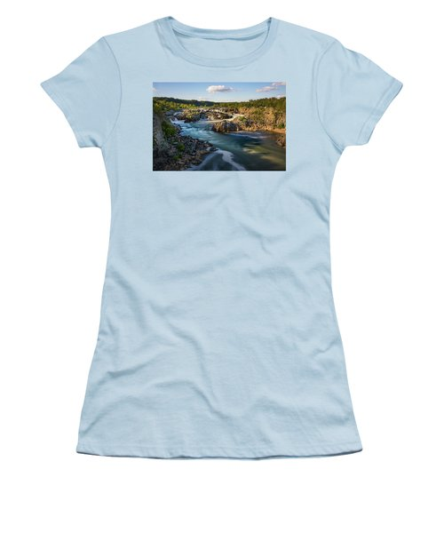 A Day In The Life Of A River Women's T-Shirt (Athletic Fit)