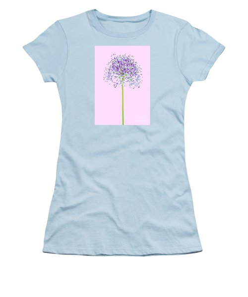 Allium Women's T-Shirt (Junior Cut) by Tony Cordoza