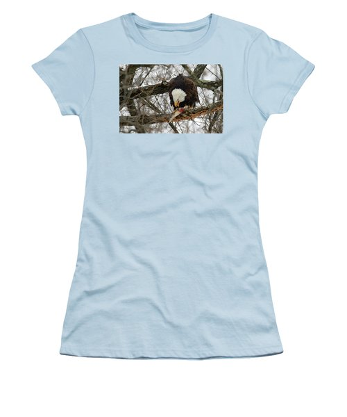 An Eagles Meal Women's T-Shirt (Athletic Fit)