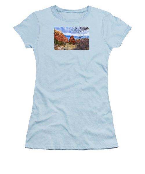 Angels Landing Women's T-Shirt (Athletic Fit)