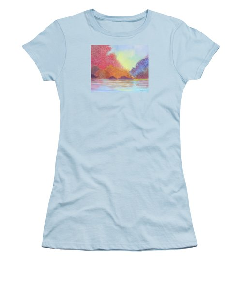Autumn's Aura Women's T-Shirt (Junior Cut) by Stacey Zimmerman