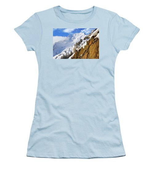 Big Cotonwood Canyon Women's T-Shirt (Athletic Fit)