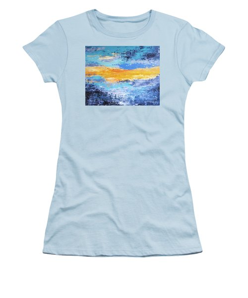 Blue Sunset Women's T-Shirt (Athletic Fit)