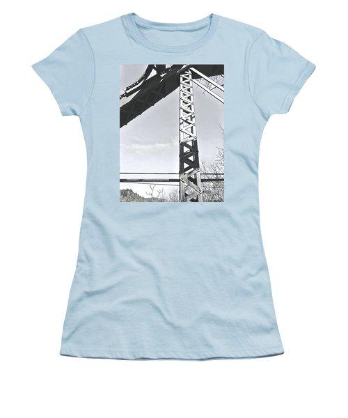 Bridge At Guerneville Women's T-Shirt (Athletic Fit)