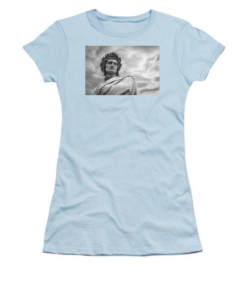 Women's T-Shirt (Junior Cut) featuring the photograph Dante Alighieri by Sonny Marcyan