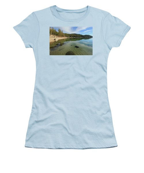 Women's T-Shirt (Athletic Fit) featuring the photograph Do You Speak The Language Of Sands by Sean Sarsfield