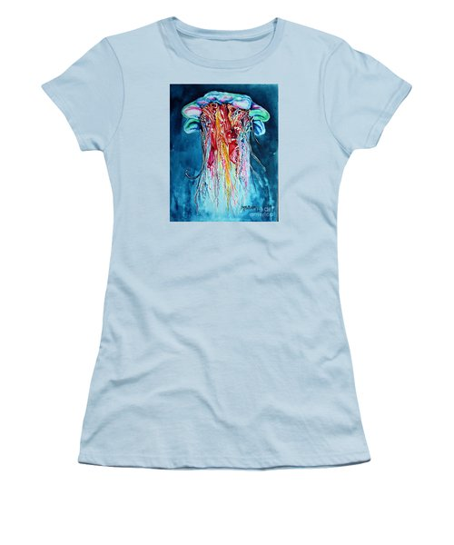 Fantasia Women's T-Shirt (Junior Cut) by Maria Barry