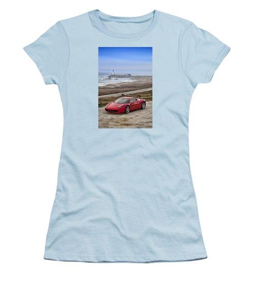 Ferrari 458 Italia Women's T-Shirt (Athletic Fit)