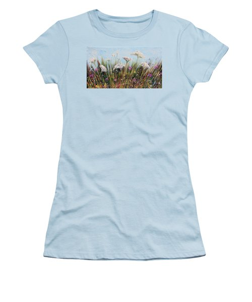 Flower Dance Women's T-Shirt (Athletic Fit)