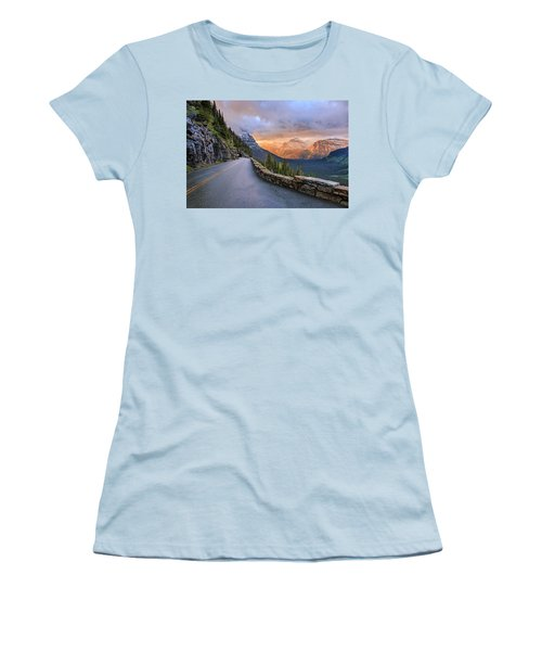 Going To The Sun Women's T-Shirt (Athletic Fit)