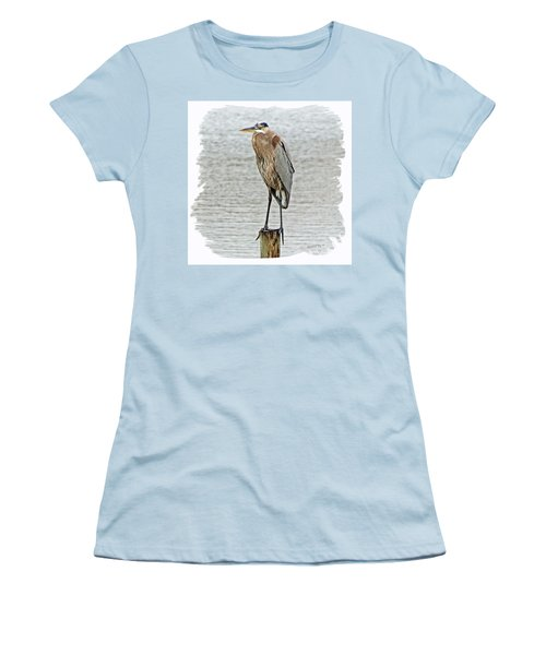Great Blue Women's T-Shirt (Athletic Fit)